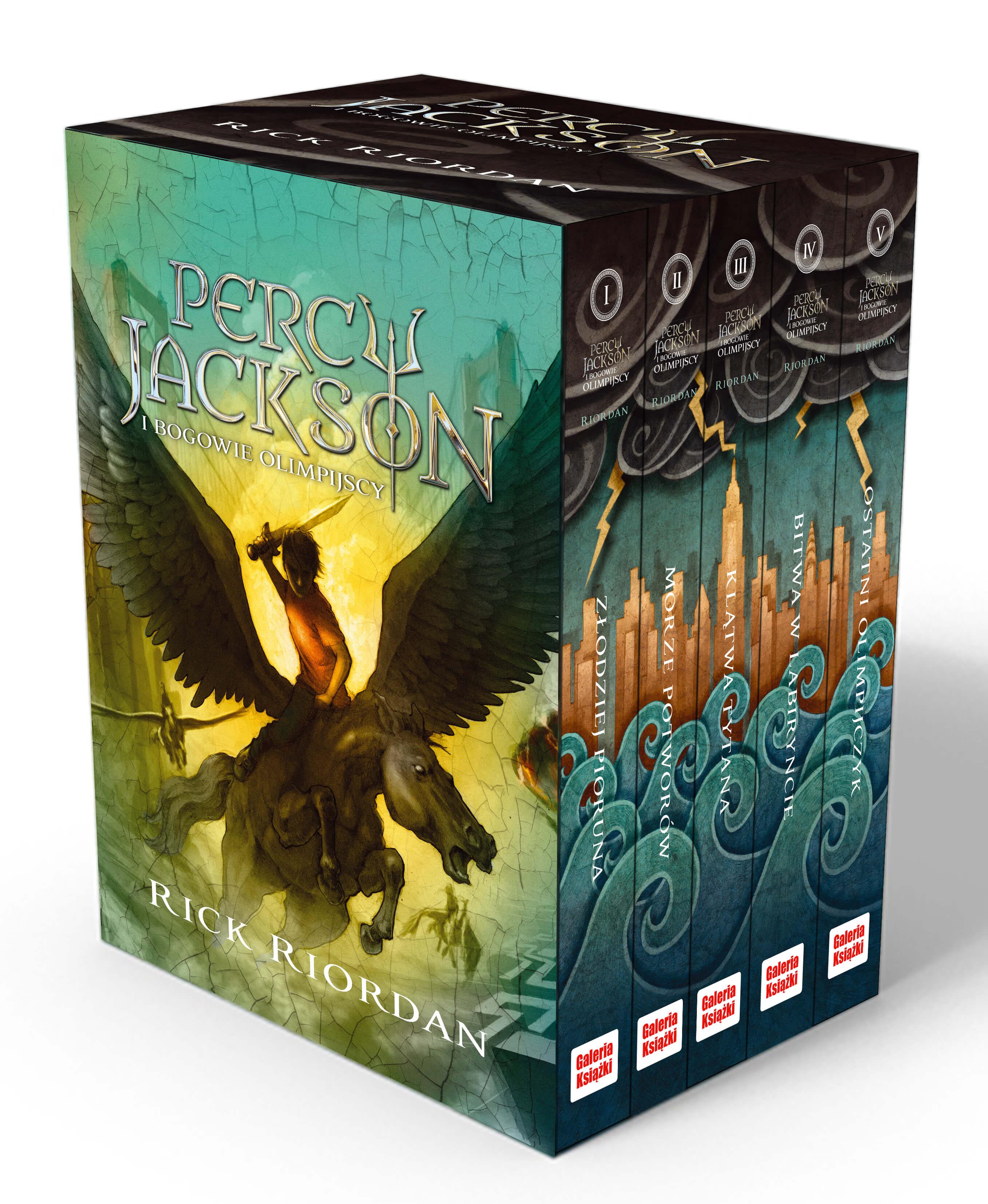 Pakiet Percy Jackson 2016