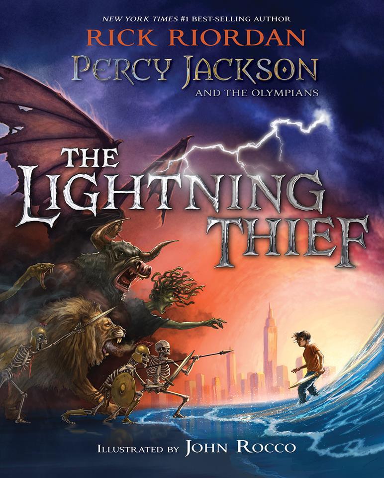 Percy Jackson I Bogowie Olimpijscy Zlodziej Pioruna Pdf